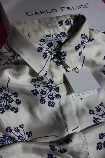 Carlo Felice aneto silk blouse