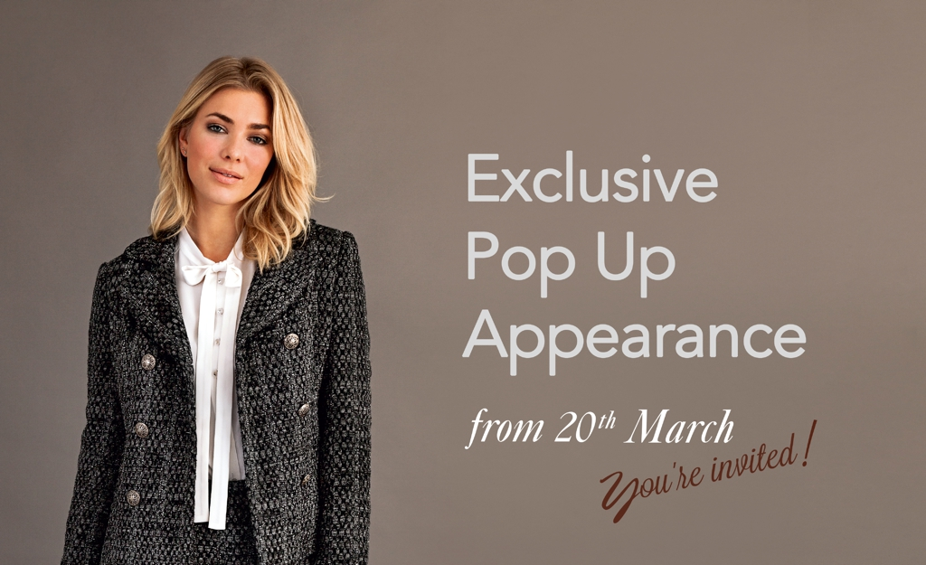 Spring is here! Join us for an exclusive pop-up appearance from 20th March 2017!