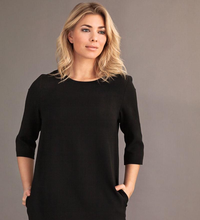 carlo felice black dress