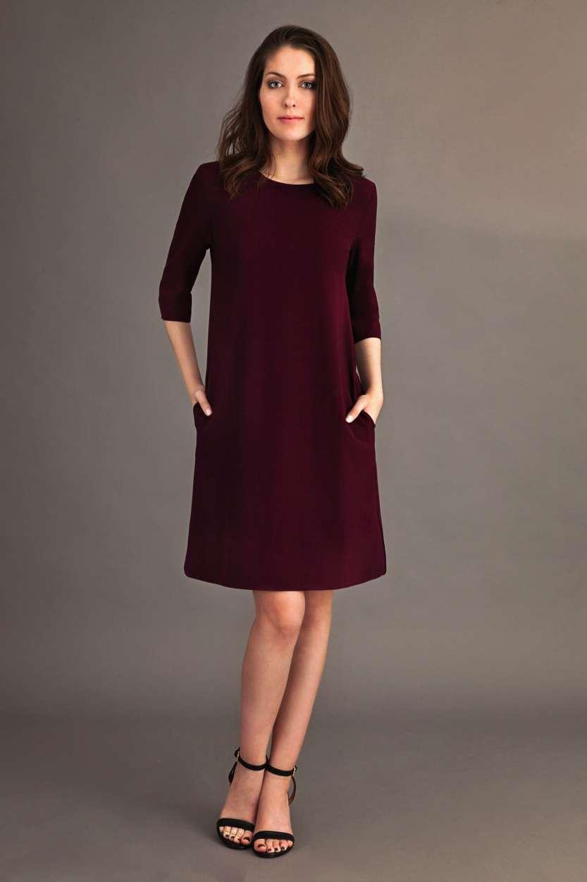 Carlo Felice Merlot dress