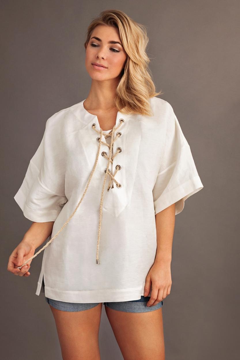 Carlo Felice Silk Linen Kimono