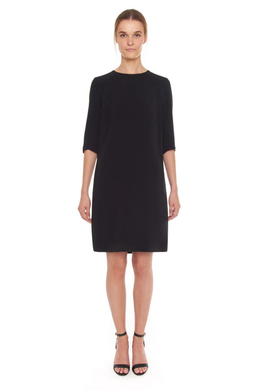 Carlo Felice Little Dress black silk