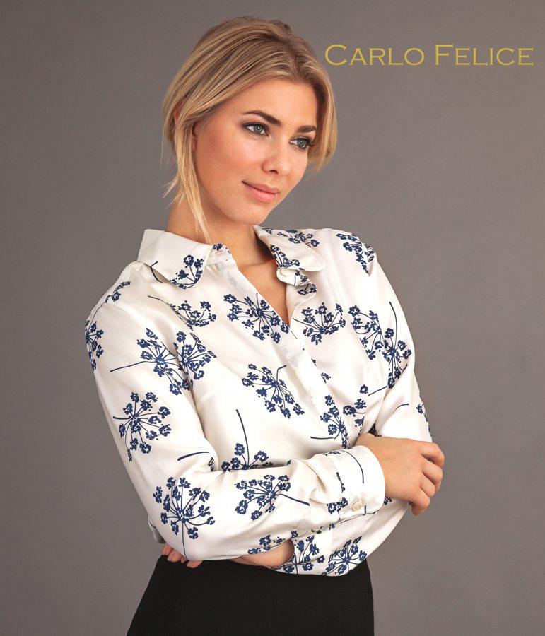 carlo felice floral shirt Aneto
