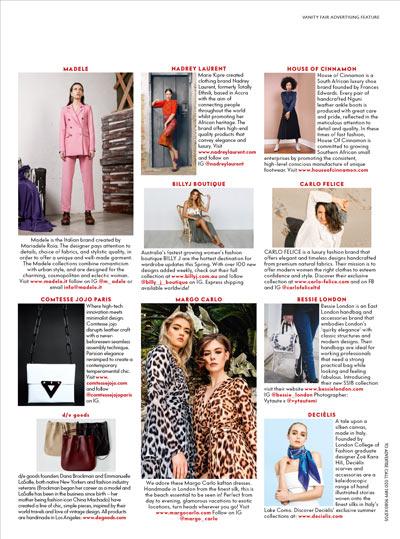 vanity fair magazine article on Carlo Felice fashion