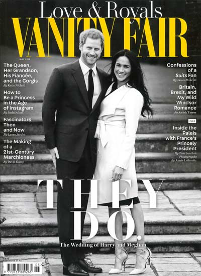 Vanity Fair May 18 Cover,