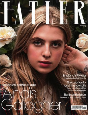 TATLER Cover AUGUST 2018