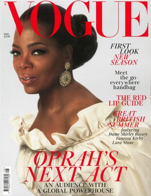 VOGUE Cover Aug 2018,