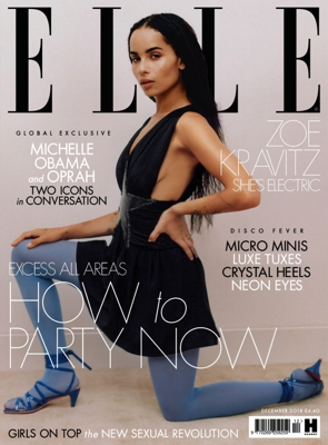 ELLE Cover Dec 2018,